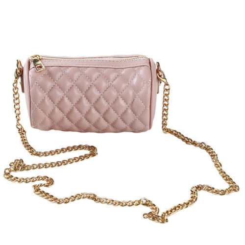 Ladies Fashion Mini Messenger Chain Shoulder Bag Crossbody Bag PU Leather CB