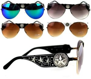Montana-West-Lone-Star-Sunglasses-Concho-Collection-Western-Cowgirl-Glasses