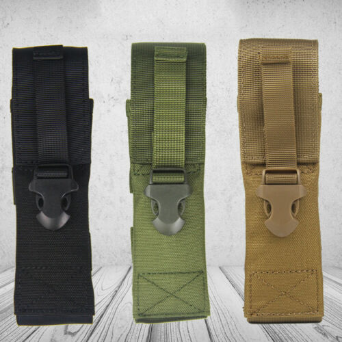 Waterproof Flashlight Torch Holster Holder Carry Case Waist Belt Bag Pouch Pack