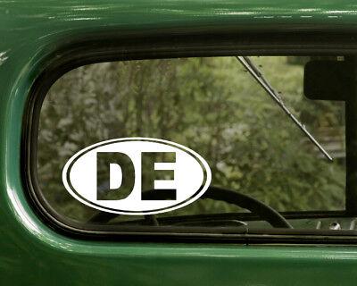 Delaware Oval Vinyl Decal Die Cut Sticker Bumper Laptop Window Car Auto DE