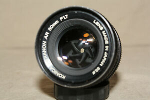 KONICA-HEXANON-AR-50mm-1-1-7-LENS-READ-9048