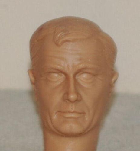1//6 SCALE CUSTOM MAN FROM UNCLE ROBERT VAUGHN NAPOLEON SOLO ACTION FIGURE HEAD