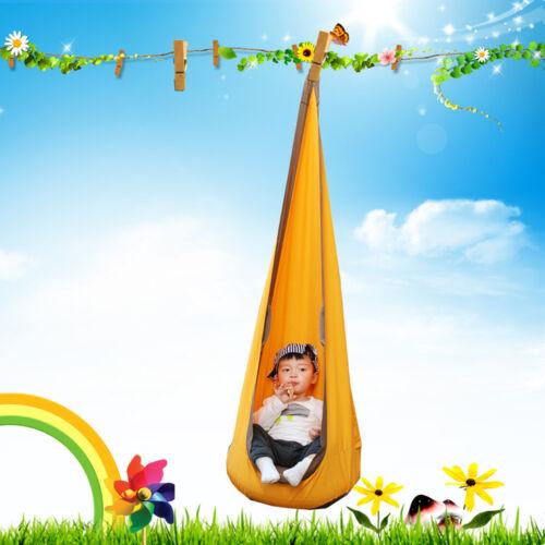 Hängematte Kinder Kids Kinderhängesitz 100/% Baumwolle Hängehöhle Hängesessel NEU