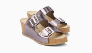 Mephisto Lenia Bronze Wedge Comfort Sandal Women's Sizes 36-40 NEW!!!