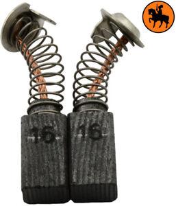 Ordonné Balais De Charbon Pour Hitachi Coupeuse/scie Cp12b - 6,5x7,5x13mm Apparence Brillante Et Translucide