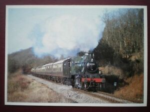 POSTCARD LMS IVATT CLASS 2 LOCO NO 45621 ON THE SEVERN VALLEY RAILWAY - Tadley, United Kingdom - POSTCARD LMS IVATT CLASS 2 LOCO NO 45621 ON THE SEVERN VALLEY RAILWAY - Tadley, United Kingdom
