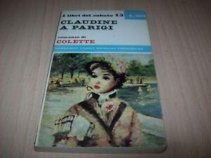 COLETTE-CLAUDINE-A-PARIGI-I-LIBRI-DEL-SABATO-CASINI-13-1965-1aE-MOLTO-BUONO
