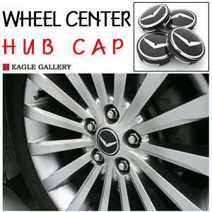 Eagle Wheel Center Cap V Emblem 4p 1set For Hyundai Universal Fit