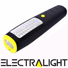 Ultra Bright 37 LED Light Magnetic Worklight Inspection Work Lamp Hanging Torch
