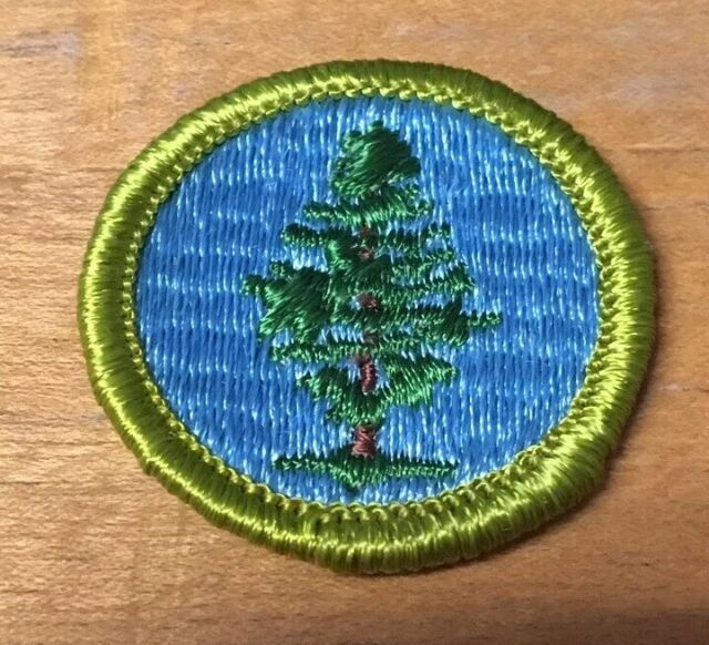 BOY SCOUTS SOIL AND WATER CONSERVATION  MERIT BADGE  TYPE G  NEW
