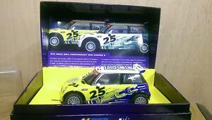 Scalextric-C2599A-Mini-Cooper-S-NSCC-25th-Anniversary-car-Ltd-Ed-451-of-500-New
