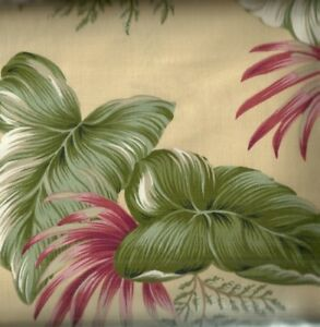 Tropical-Paradise-yellow-floral-fabric