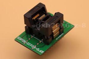 28 SSOP20 to DIP20 Pitch 0.65mm IC Programmer Adapter Test Socket OTS-20 -0.65