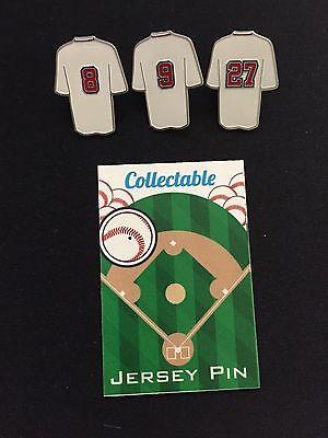 Yastremski & Fisk-top Verkäufer Heller Glanz Liberal Boston Red Sox Pins-3-legend Nation-williams Weitere Ballsportarten