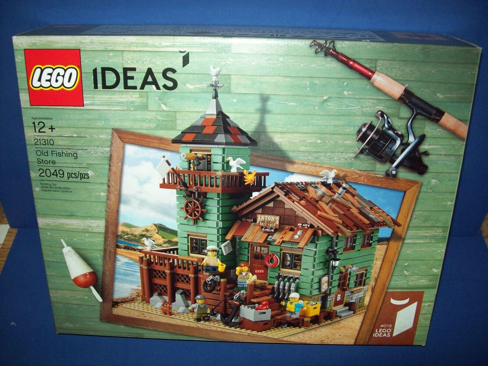 Lego Ideas Cuusso Antiguo Pesca Almacén 21310 Nisb Nuevo, en Caja