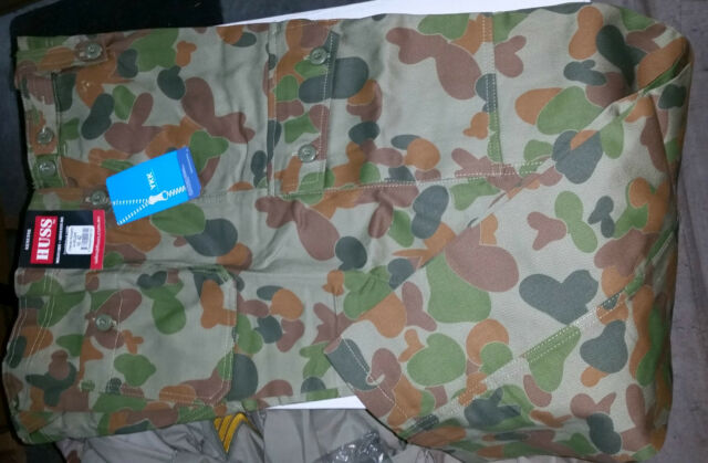 """OZZIE CAMO PANTS - NEW COLOURS MADE **30"""" TO 50"""" ** CARGO CADETS ARMY COSPLAY"""