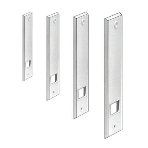 Farbe weiß für Einlass-Gurtwickler Rollladen Wicklerblende Lochabstand 214 mm