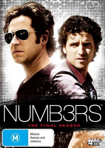 1 of 1 - Numbers : Season 6 - (4-Disc Set) - NEW DVD - Region 4