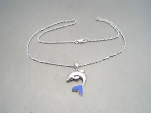 Pendant silver 925 dolphin