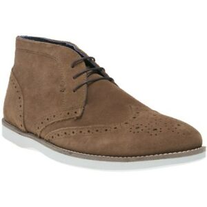 red tape mens aldford chukka boots tan  ebay
