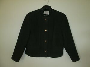 AVOCA-COLLECTION-Ireland-Ladies-Wool-and-Cashmere-Green-Jacket-Size-L