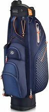 Bennington Cartbag QO 9 Lite Waterproof Farbe: Midnight Blue/Orange/White