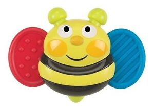 Busy-Bee-Baby-Buzz-039-r-Musical-Vibrating-Baby-Soother-Teether-Ages-3mo-NEW