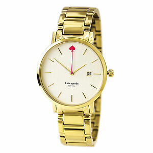 Details About Kate Spade New York Gramercy Grand Pearl Dial Las Watch 1yru0009