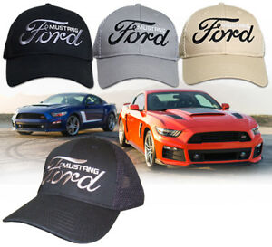 Image Is Loading New Ford Mustang Hat Mesh Ford Gt Pony