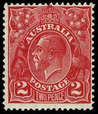 """AUSTRALIA 71v (SG99v) - King George V """"Unlisted Die I"""" (pa61335bx)"""