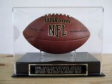 3d1948be707 Football Display Case With A San Francisco 49ers Super Bowl 16 Champs  Nameplate