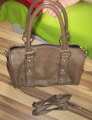 Handtasche, Schultertasche, Umhängetasche, braun, unbenutzt, neu, mit Handyfach