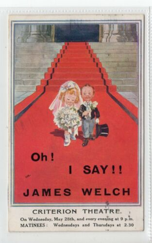 """OH I SAY"" Theatre Advertising postcard C19212"