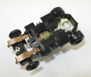 Tyco-Slot-Car-2-6-OHM-SUPER-FAST-NHRA-POLYMER-DRAG-CHASSIS-8-20-Gears-Tomy-BSRT