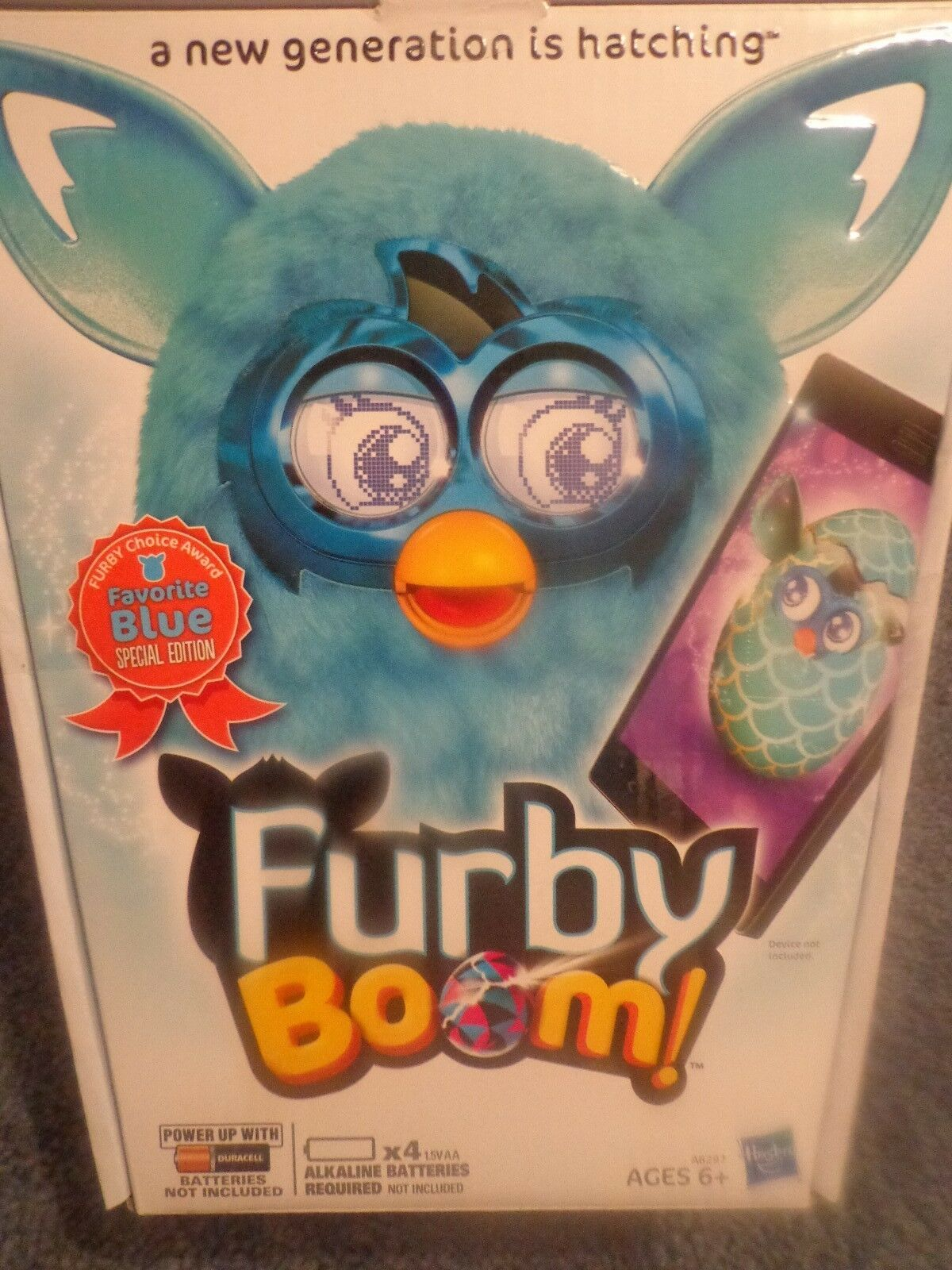 TOP TOY 2013 - FURBY BOOM FIGURE - Choice Award Favorite bluee Special Edition