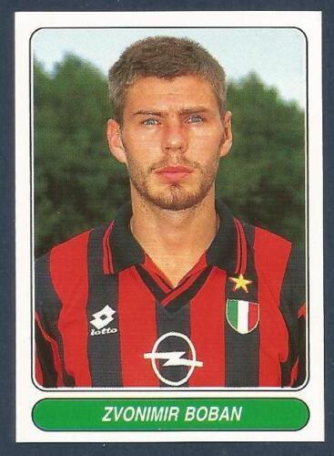 #054-AC MILAN /& CROATIA-ZVONIMIR BOBAN PANINI EUROPEAN FOOTBALL STARS 1997