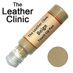 BEIGE-Leather-Paint-Touch-Up-for-Sofa-Car-Shoes-Handbag-amp-more