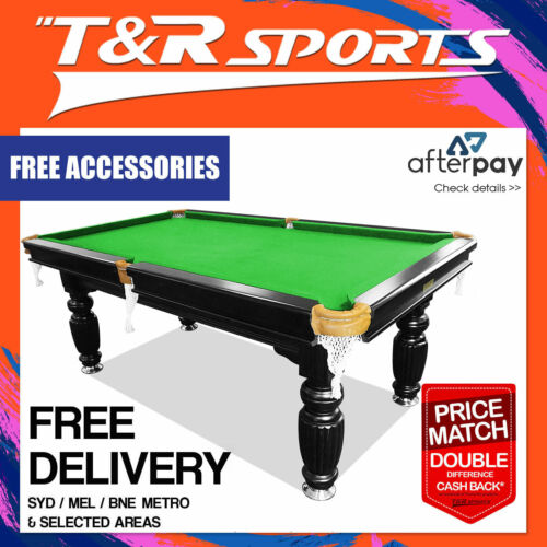 8FT SLATE POOL/SNOOKER/BILLIARDS TABLE - GREEN
