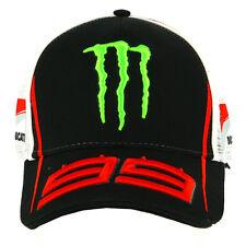 Jorge Lorenzo 99 Moto GP Monster Energy Sponsors Baseball Cap Official 2017