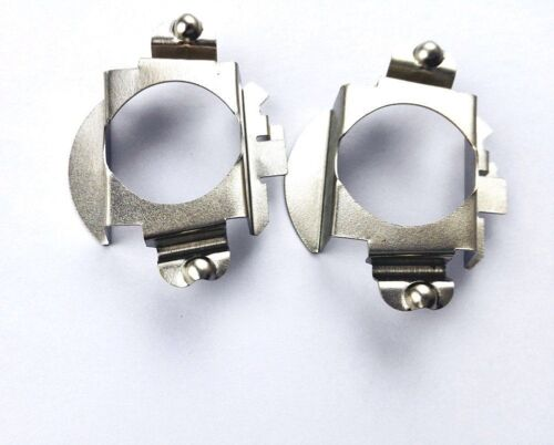 H7 LED convert Bulb Holder Adapters Mercedes Benz C-CLASS ML350 2013 C350 MB AMG