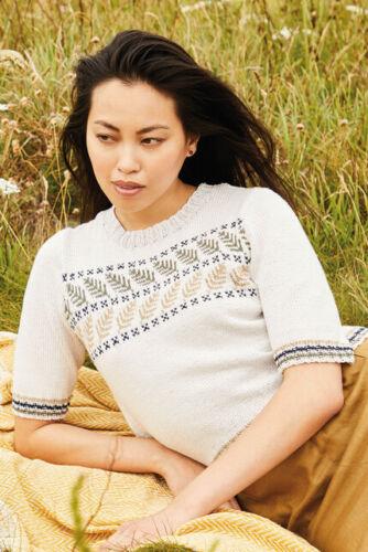 Rowan Magazin 67 Knitting /& Crochet 35 Modelle mit Anleitungen