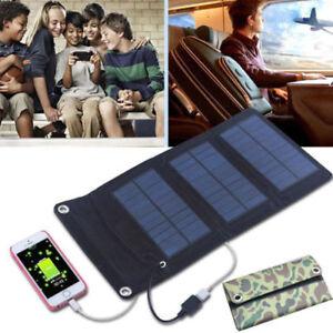 wasserdicht 5w 7w faltbar solar ladeger t power bank usb akku f r mobile handy ebay. Black Bedroom Furniture Sets. Home Design Ideas