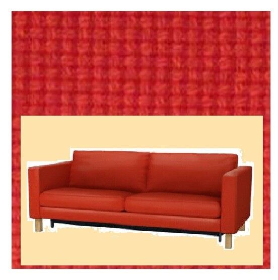 IKEA Karlstad Korndal Red Sofabed Cover ONLY(DiscMatesAvail)NEW Sleeper  Sofa Bed