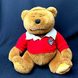 Gund-Plush-Teddy-Bear-Lands-End-Rugby-Bear-Brownie-Muldoon-1996