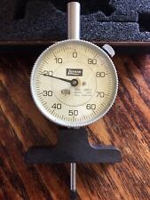 Lufkin Machinist Inspection Dial Indicator J280 1 In Org Hard Case Vg Cond
