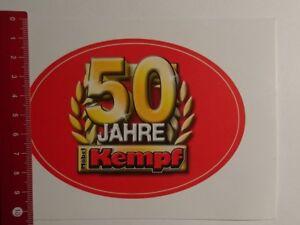 Aufklebersticker 50 Jahre Möbel Kempf 22031713 Ebay