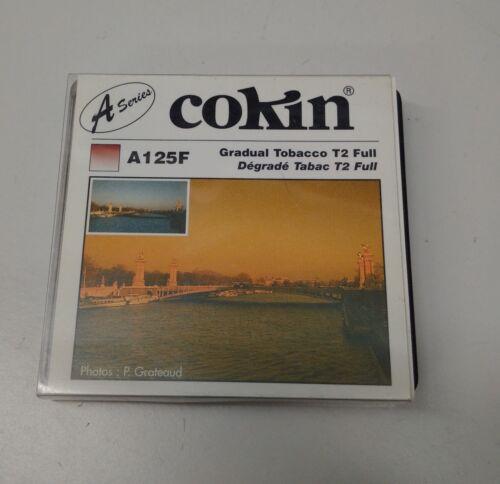 FILTRE COKIN A125F Degradé Tabac T2 Full Série A Gradual Tobacco T2 Effet
