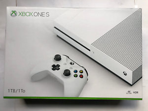 Details about Microsoft Xbox One S 1TB White Gaming Console