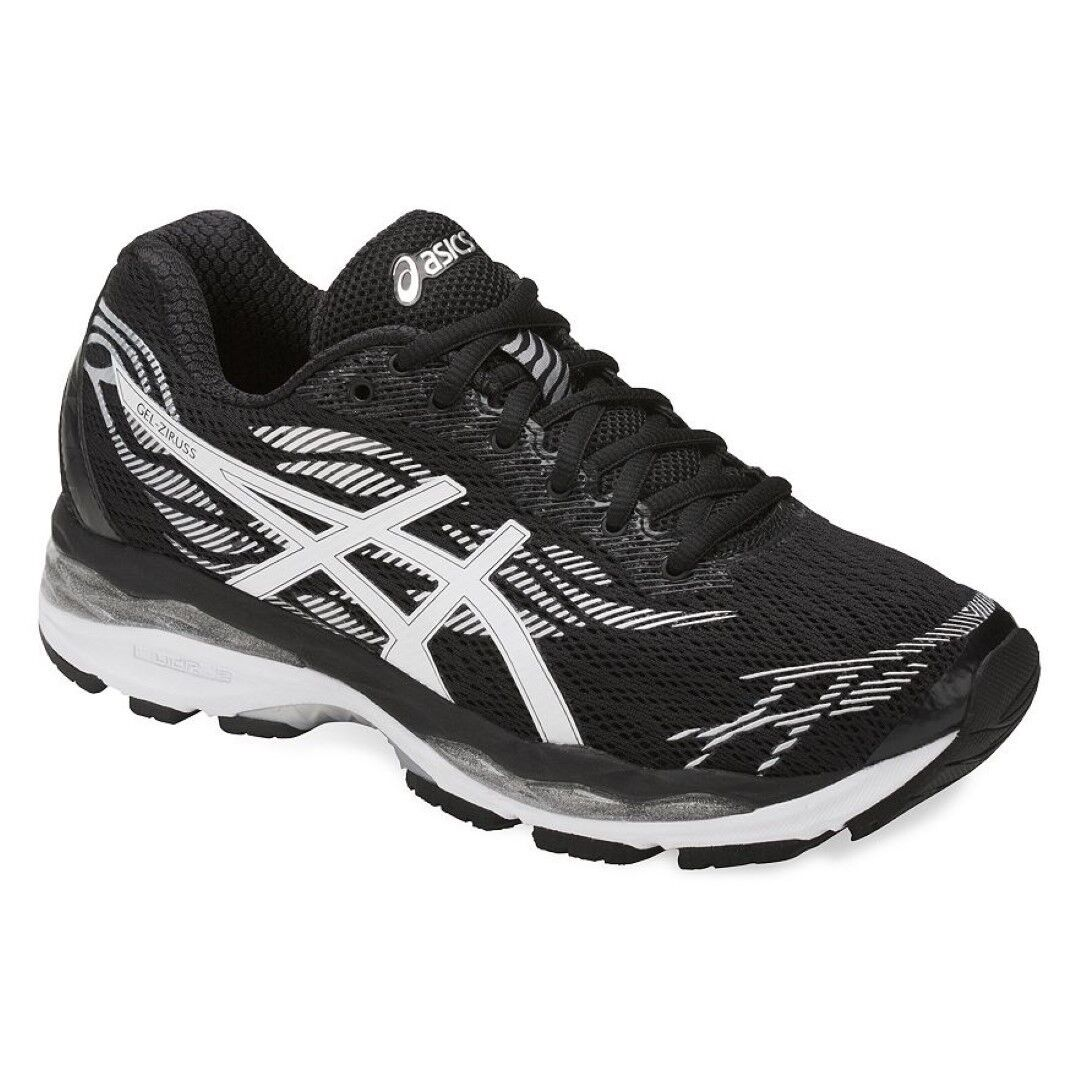 ASICS T7J6N GEL Ziruss Womens Running Shoes Black/White/Silver