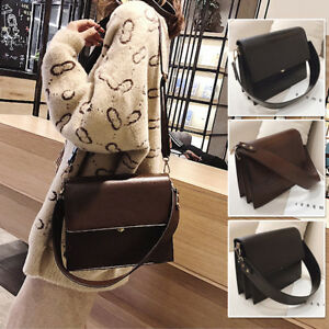 Small-Faux-Leather-Single-Shoulder-Bag-Crossbody-Purse-Satchel-Messenger-Bag